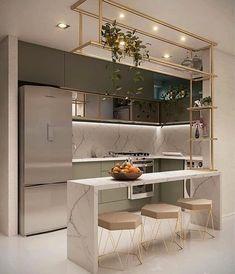 Luxury Kitchen Design, Kitchen Room Design, Home Room Design, Kitchen Cabinet Design, Home Decor Kitchen, Interior Design Kitchen, Kitchen Furniture, Home Kitchens, Kitchen Ideas