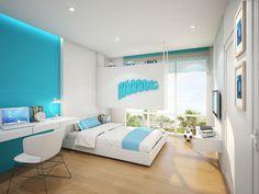 Son Bedroom Perspective