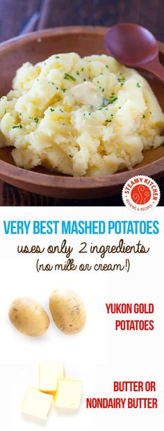 Mashed Potato Recipe No Milk.Very Best Mashed Potatoes Recipe Steamy Kitchen. 50 Mashed Potato Recipes : Recipes And Cooking : Food . Busy In Brooklyn No Milk Mashed Potatoes. Mashed Potatoes Without Milk, Baked Mashed Potatoes, Homemade Mashed Potatoes, Making Mashed Potatoes, Easy Potato Recipes, Mashed Potato Recipes, Milk Recipes, Dairy Free Recipes, Pasta Recipes