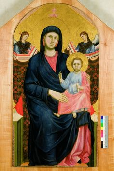With holy virgin masaccio trinity