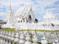 Place of Worship: Wat Rong Khun, Thailand.