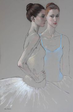 Katya Gridneva - Two dancers 200