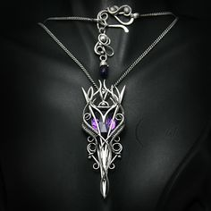 AMETUVILTH - silver and amethyst by LUNARIEEN on DeviantArt