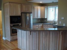 Kitchen in the Anniston, plan 540. http://www.dongardner.com/plan_details.aspx?pid=499. #Kitchen #Home #Country