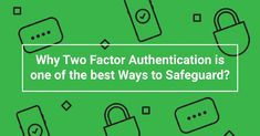 Why two factor authentication is the safest option check this out. Marketing Articles, Marketing Ideas, Multi Factor Authentication, Mobile Marketing, Factors, Campaign, Social Media, Good Things, Check