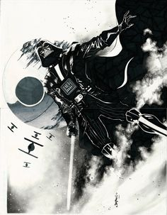 Star Wars - Darth Vader by Jimbo Salgado *