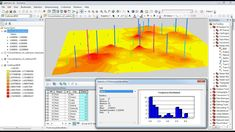 Arcgis 3d Analyst Visualizing soil contamination and Edema Rate