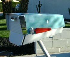 Mid-Century Modern Mailbox. www.modboxusa.com
