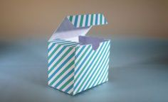 This page is a resource for DIY artists, graphics designers and everyone who likes paper crafts. It contains an ever growing number of templates for gift boxes and increasingly more other interesting things that can be made out of paper. The templates are all dynamic: you can customize almost all dimensions. All templates are free, no login is required.