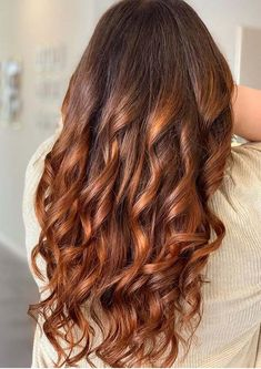 Hot Copper Balayage Hair Color Trends for Women 2020 | Stylezco Hair Color Highlights, Hair Color Balayage, Copper Balayage, Latest Hair Color, Hair Color For Women, Latest Hairstyles, Color Trends, Hair Cuts, Celebs