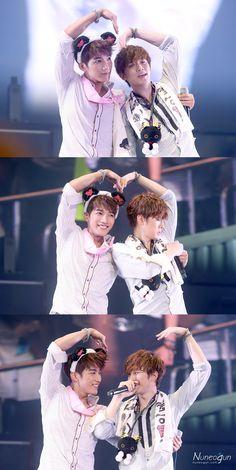 Jun. K and Junho ~ so cute!