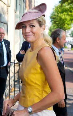La reina Máxima de Holanda el 4 de Septiembre de 2013.
