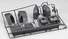 Tamiya Chassis L Parts (Wheel Well Liner) XV-01