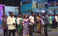 Operation Choose Your Life Partner Says Pastor To His Members During Church Service     A man of God based in Warri Delta State Prophet Jeremiah Omoto Fufeyin the General Overseer of Christ Mercyland Deliverance Ministry caused a stir last week after he ordered single men and women to choose whoever they liked for instant marriage.  The incident allegedly happened during a church service when Prophet Fufeyin invited single people to the altar and ordered them to start choosing any person…