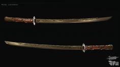 2013 Model of a sword from a game Shadow Warrior. Concept: Paweł Świeżak