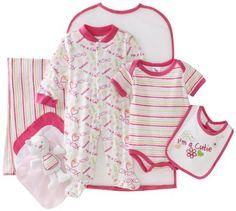 e99dbda01715 Cutie Pie Baby-girls Newborn Cutie 9 Piece Set In Garment Bag
