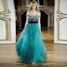 Платье вышивка короткая, женское рукав марля вуаль элегантный дизайнер взлетно-посадочной полосы длинная макси платья(China (Mainland))