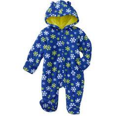 Garanimals Baby Boys Print Micro Fleece Hoodie Dino