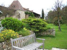 View from the pool La Salvetat Logis Hotel Dordogne