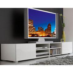 Meuble TV 4 niches 2 tiroirs Magnus - Blanc prix promo La Maison de Valerie 137,99 € TTC au lieu de 249,99 €