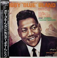 BOBBY BLAND AND JOHNNY GUITAR WATSON / BLUES / R&B / P-VINE JAPAN OBI
