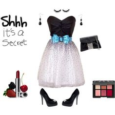 Don't Tell, It's a Secret, created by horsieb on Polyvore