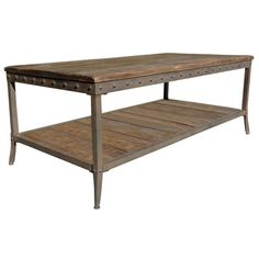Trenton Distressed Pine Coffee Table - Overstock Shopping - Great Deals on Coffee, Sofa & End Tables