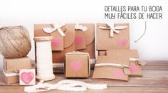 #DIY wedding #packagings :)