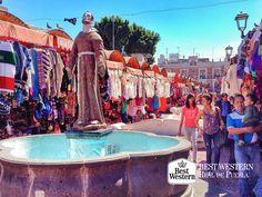 EL MEJOR HOTEL EN PUEBLA. Usted puede disfrutar de distintas actividades, durante su viaje a la ciudad de Puebla. En el mercado del Parián encontrará los mejores dulces típicos de la zona, juguetes de madera así como artesanías textiles. Le invitamos a hacer su próxima reservación en Best Western Real de Puebla al (55)52086460 y (55)55118957. #bestwesternpuebla