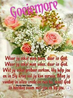 Good Morning Prayer, Morning Prayers, Good Morning Good Night, Good Morning Wishes, Lekker Dag, Afrikaanse Quotes, Goeie More, Thank You Lord, Special Quotes