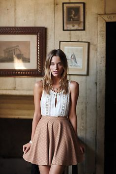 So sweet! Sugared Lattice Blouse #anthropologie