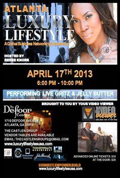 Renee Knorr - Atlanta Luxury Lifestyle Event - April 17, 2013