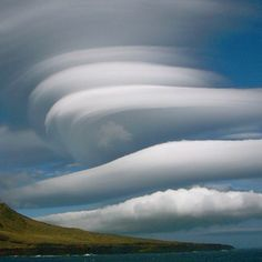Lenticular clouds....right place...right time for this one