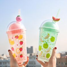 Cute Summer Water Cups ml. ●About Shipping: We attach great importance to the orders of each customer and parcel delivery. time: business days to US, please allow weeks shipping to other country. Fruit Water Bottle, Plastic Drink Bottles, Cute Water Bottles, Glass Water Bottle, Kawaii Fruit, Kawaii Room, Cute Cups, Summer Fruit, Cute Food