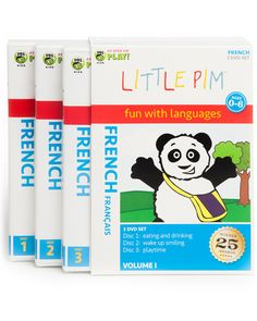 Little Pim French 3-Pak Volume I  Kids