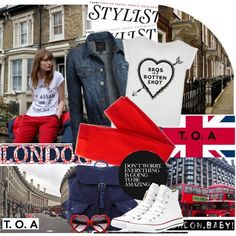 """Let's go to London!"" by helenevlacho on Polyvore"