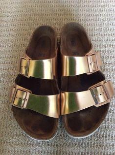 Birkenstock gold Sandals