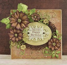 Heartfelt Creations Fall Birthday Card by stamptress1 - Cards and Paper Crafts at Splitcoaststampers