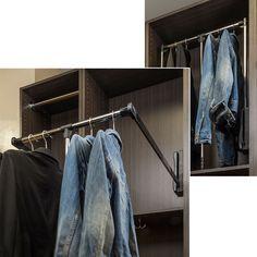 Wardrobe Lifts & Racks - Closet Organizers - Organizers