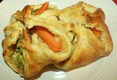 Vegan Wifestyle: Vegan Dinner: Veggie Pot Pies