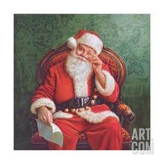 Dear Santa Art Print by Mark Missman at eu.art.com
