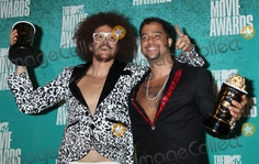 03 June 2012 - Universal City, California - Red Foo, Sky Blu (LMFAO). 2012 MTV Movie Awards held at the Gibson Amphitheatre. Photo Credit: Russ Elliot/AdMedia