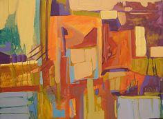 Window With A Vierw by Judy Wilder Dalton Acrylic ~ 30 x 40