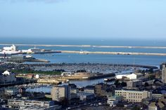 Vue de Cherbourg du fort du Roule