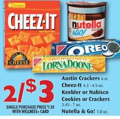 $1.00 off any TWO Keebler® Cookies Printable Coupon Plus Rite Aid Matchup!