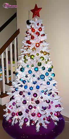 Beautiful White Christmas Tree Decoration Idea Colorfully ChristmasTrees White Decorated