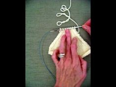 How To Join Live Stitches In Knitting : KNITFreedom - Russian Grafting: How To Join Live Stitches With A Crochet Hook...