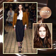 La exclusiva firma de moda Hermés también se apunta a la #MOKAMANÍA  Durante su último desfile, todas las modelos mostraron alguna de las distintas gamas de coloración MOKA disponibles.  ¡Súmate a la MOKAMANÍA de L'Oréal Professionnel en Oh! Peluqueros!