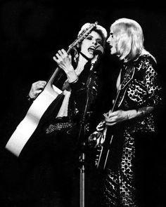 David Bowie & Mick Ronson