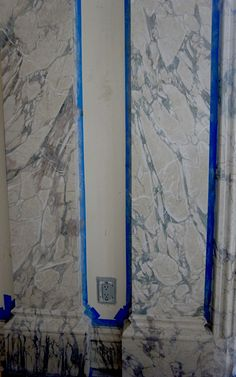 Veining the Breccia Sevenzia marble with Pierre Finkelstein and Jean-Luc Sable